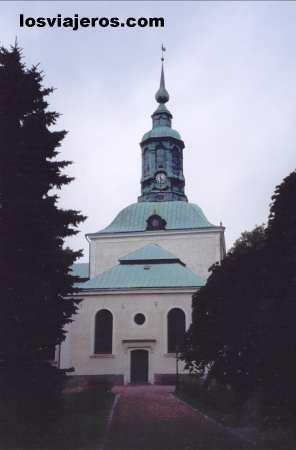 Tyska kyrkan or German church in Karlskrona - Sweden - Denmark Tyska kyrkan o Iglesia Alemana en Karlskrona -Suecia - Dinamarca