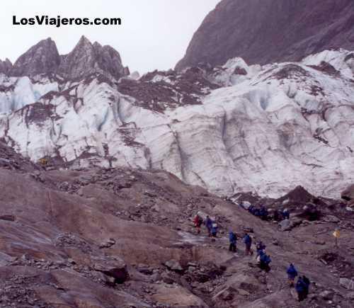 Glaciar Franz Joseph - Isla del Sur - Nueva Zelanda