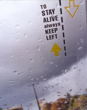 Conducir por la izquierda - Nueva Zelanda Driving on left - New Zealand